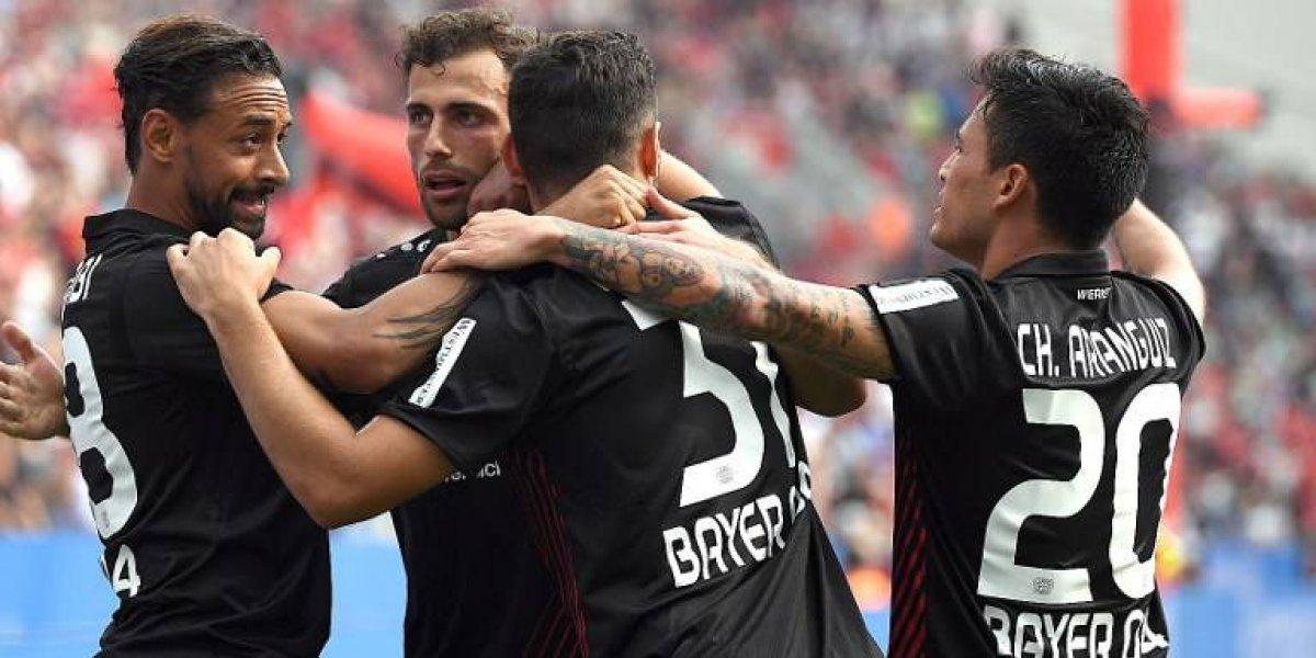 Así vivimos el empate del Leverkusen de Aránguiz con el Schalke en la Bundesliga