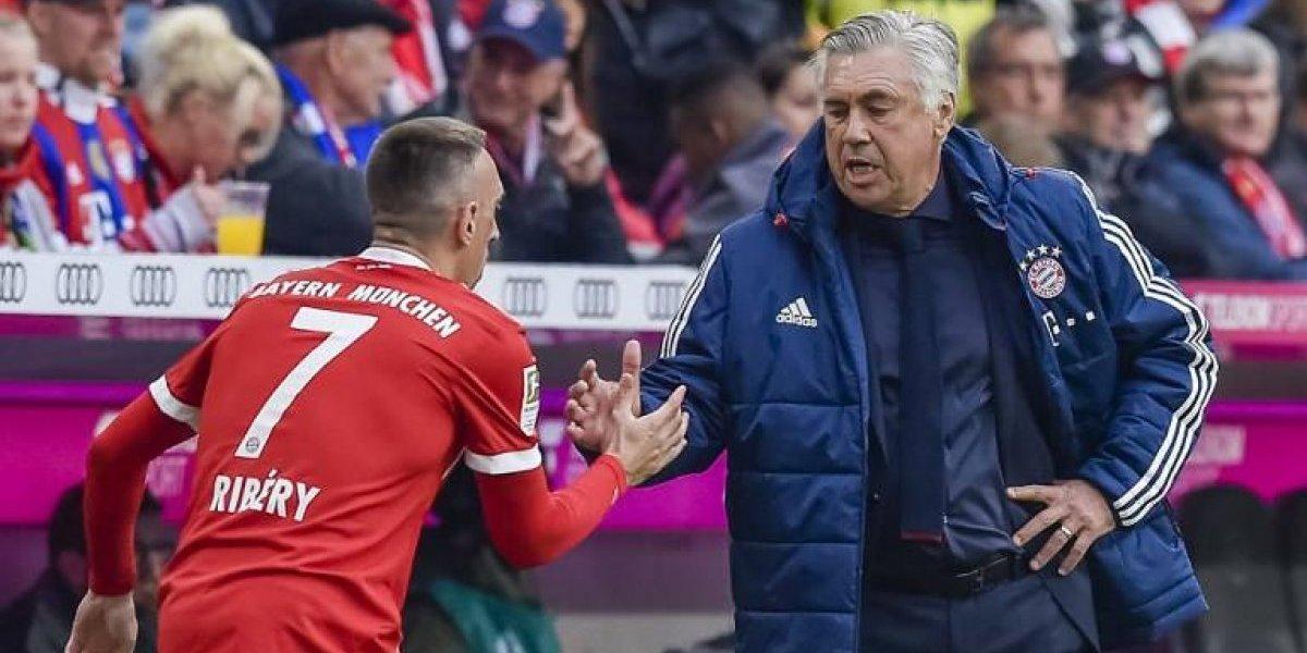 Robben, Ribery y Müller: los villanos que le hicieron la vida imposible a Ancelotti en el Bayern