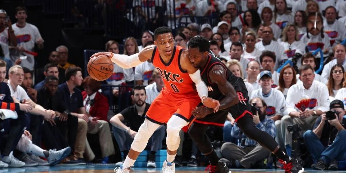 Westbrook firma con Oklahoma City el contrato más caro en la historia de la NBA