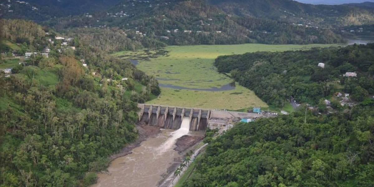 Abren compuertas de la represa La Plata