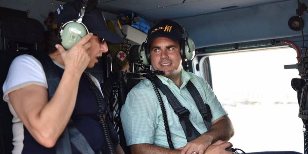 """Gobernador reconoce """"lentitud"""" en llegada de ayuda"""