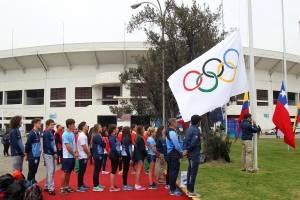 Ceremonia de las Banderas II Juegos Suramericanos de la Juventud.
