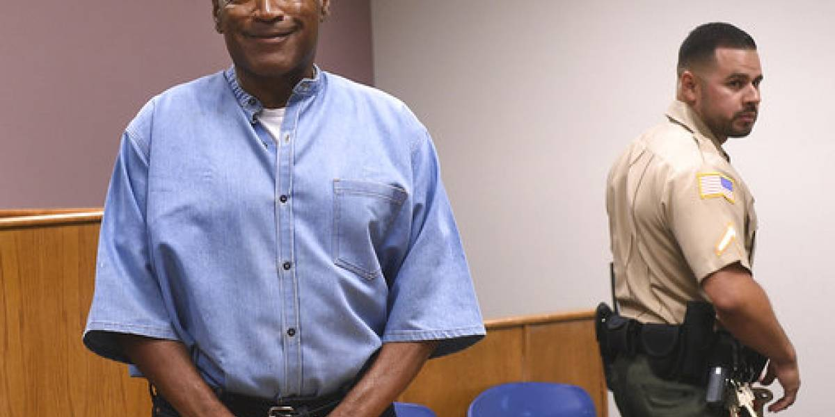 O.J. Simpson irá a Florida tras salir de prisión