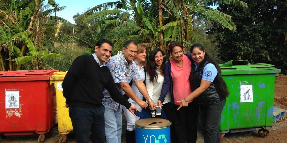 Chilenter retiró 5 toneladas de residuos electrónicos desde Isla de Pascua