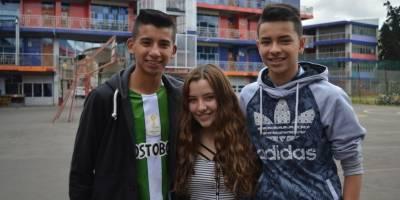 Michael, Camila y Esteban, de los más pilos del Ispa