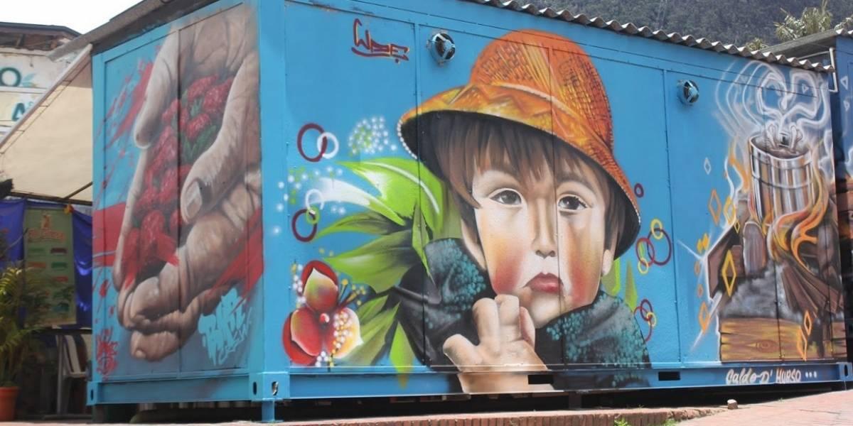 """¿Le gusta el grafiti y tiene talento? Apúntese porque quedan cupos para """"rayar"""" paredes en Bogotá"""
