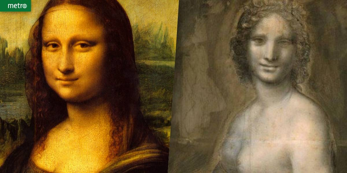 Rascunho de Mona Lisa nua pode ser obra de Leonardo Da Vinci