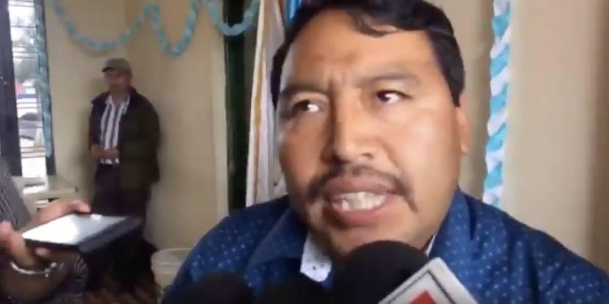 VIDEO. ¿Quieren que yo renuncie? pregunta el diputado Pedro Méndez