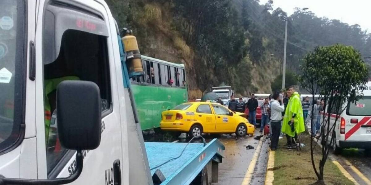 Habilitada la autopista General Rumiñahui