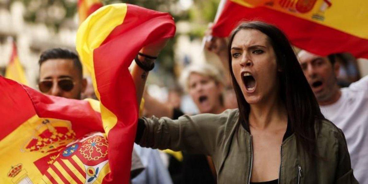 """Gobierno español confirma """"desarticulación"""" del referéndum separatista en Cataluña"""