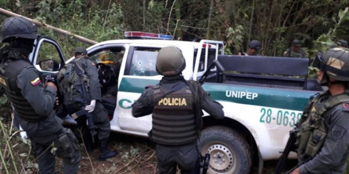 Mueren tres policías en una emboscada en Miranda, Cauca