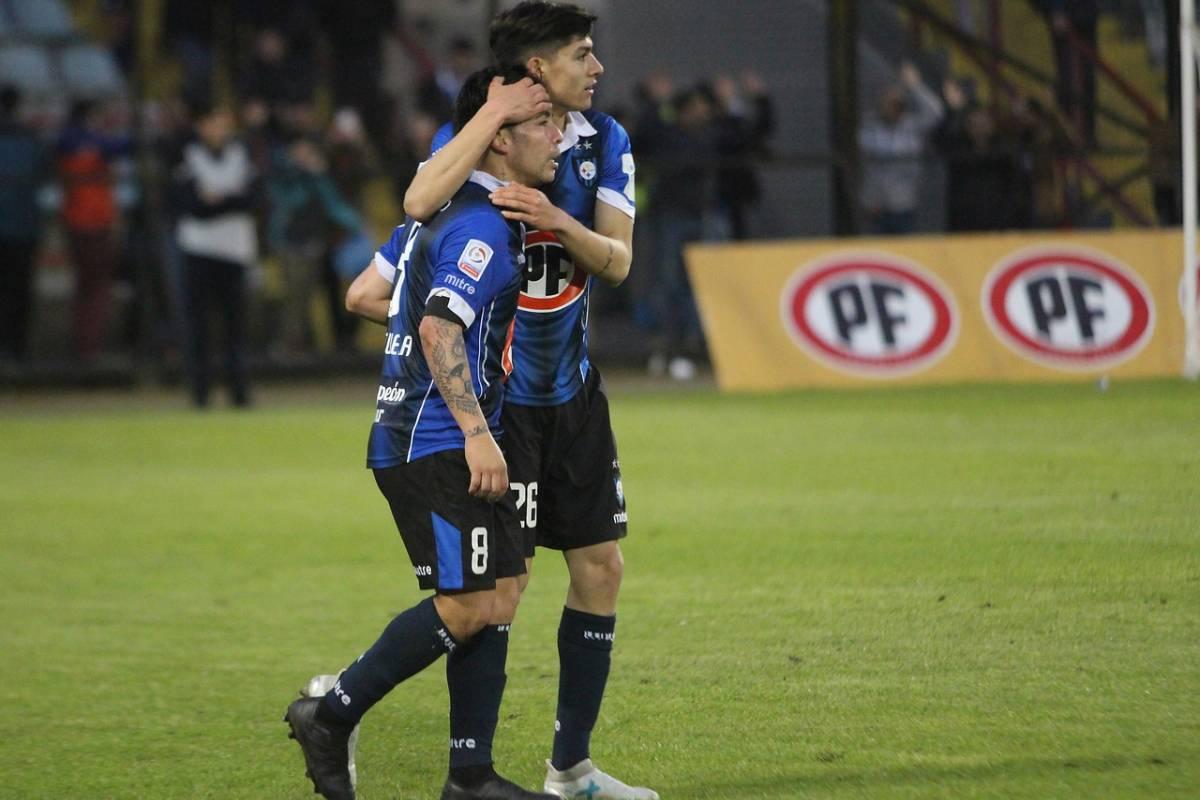 César Valenzuela fue el verdugo de Wanderers / imagen: Agencia UNO