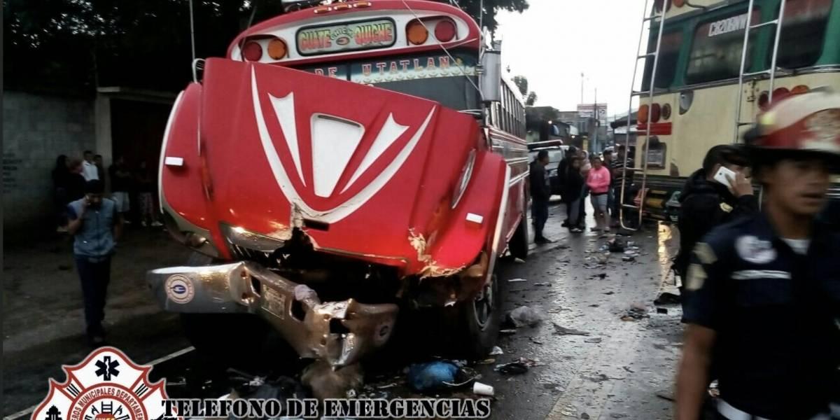 Varios accidentes de tránsito afectan la movilidad en ruta a El Salvador e Interamericana
