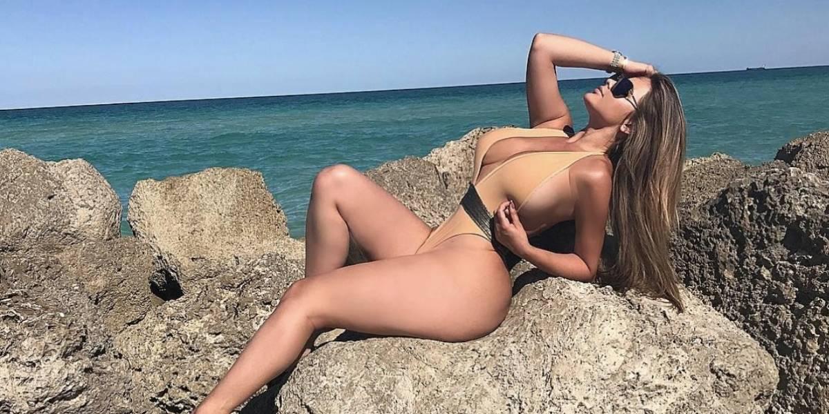 La modelo rusa que aspira convertirse en la imagen del Mundial 2018