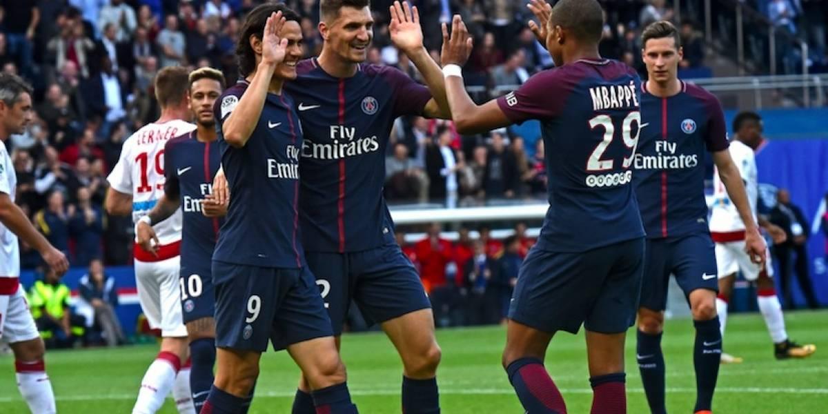 Con goleada 6-2 termina el encuentro PSG vs. Bordeaux