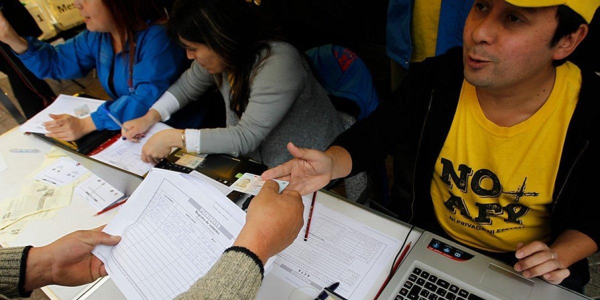 """¿Quieres votar en el plebiscito """"No + AFP"""" pero te da flojera salir de casa? ¡Hazlo en esta página web!"""