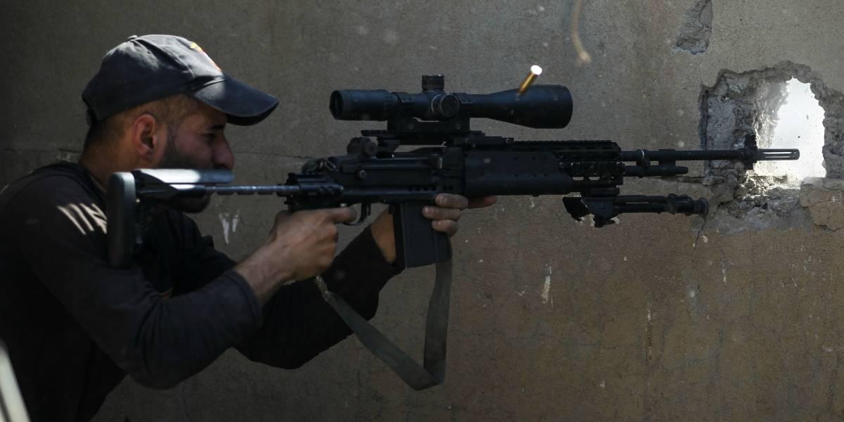 """Se jactaba de haber matado a 320 miembros del """"Estado Islámico"""": muere en combate temible francotirador iraquí"""
