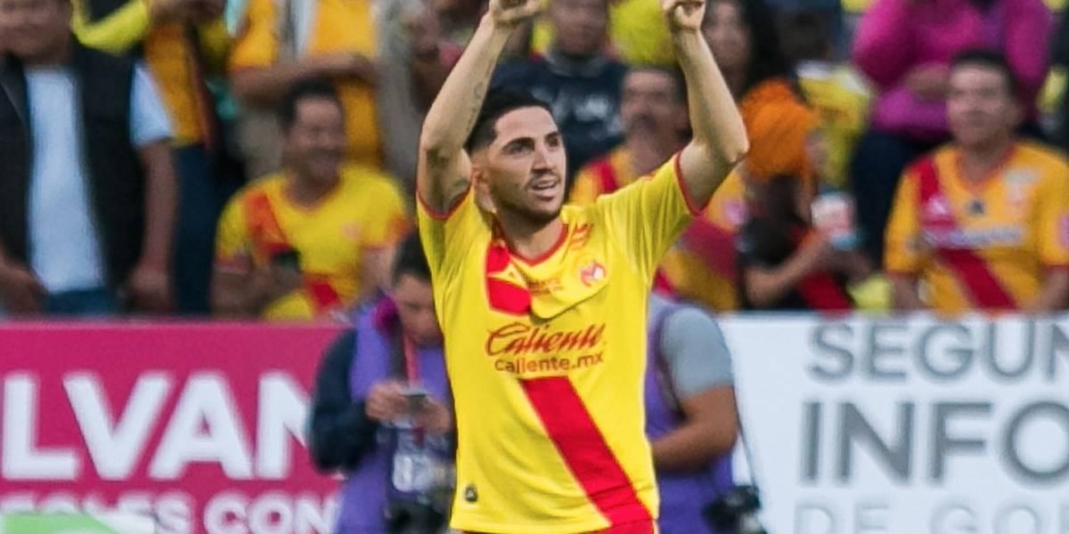 Diego Valdés es figura y anotó un doblete en triunfo de Morelia