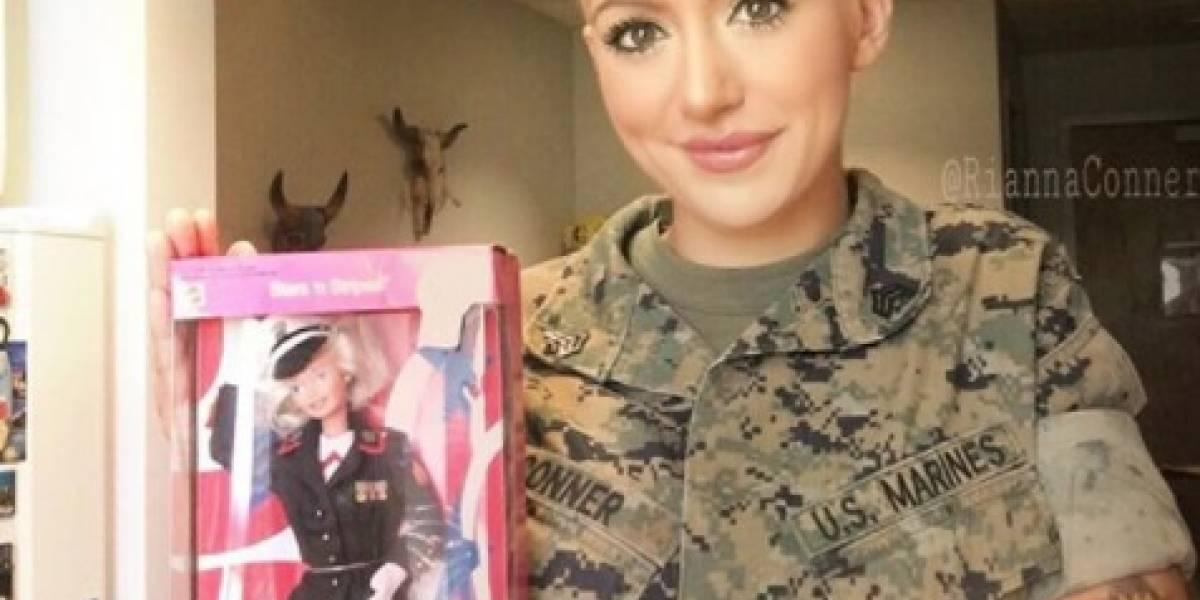 Rianna Conner, la 'Barbie de Combate'