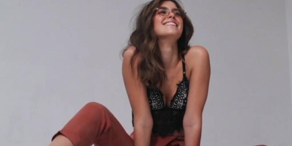 Esta sesión de fotos sacó el lado más sensual de Paulina Vega