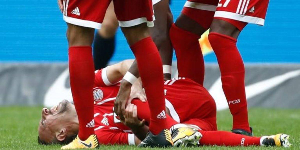 El Bayern sin Vidal no levanta cabeza y empató en el estreno de Sagnol en la banca