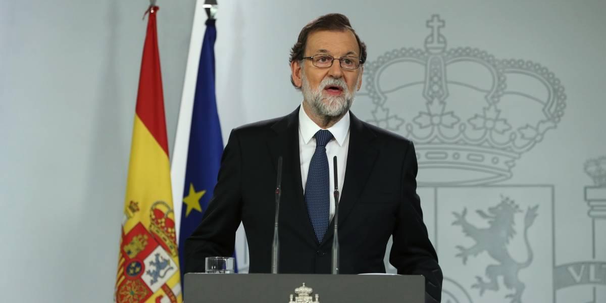 Gobierno catalán es responsable de haber actuado contra la democracia y la concordia: Rajoy