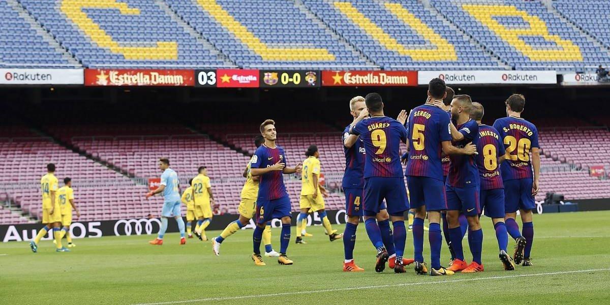 ¿Por qué Barcelona vs. Las Palmas se jugó a puerta cerrada en el Camp Nou?