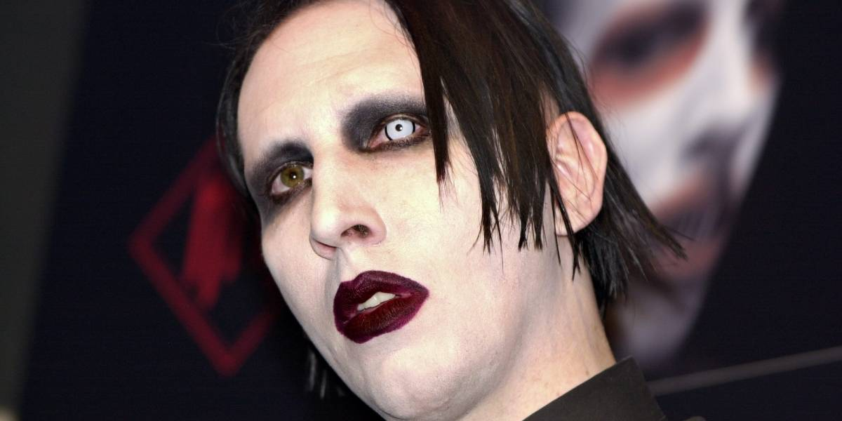 Marilyn Manson se accidentó durante un concierto