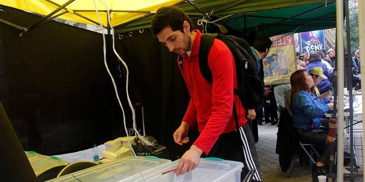 """Promotores de """"No Más AFP"""" estiman participación preliminar de 600 mil personas en plebiscito"""