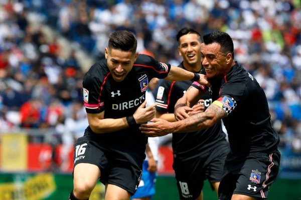 Colo Colo festejó en San Carlos / imagen: Agencia UNO