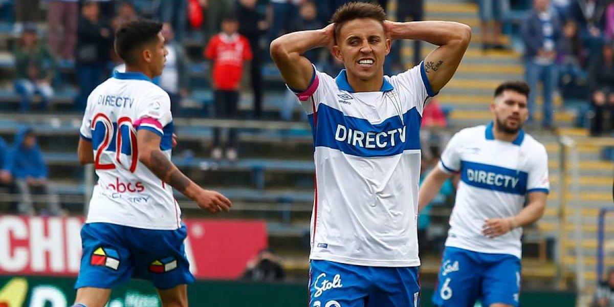 Diego Buonanotte será baja en la UC por problemas personales