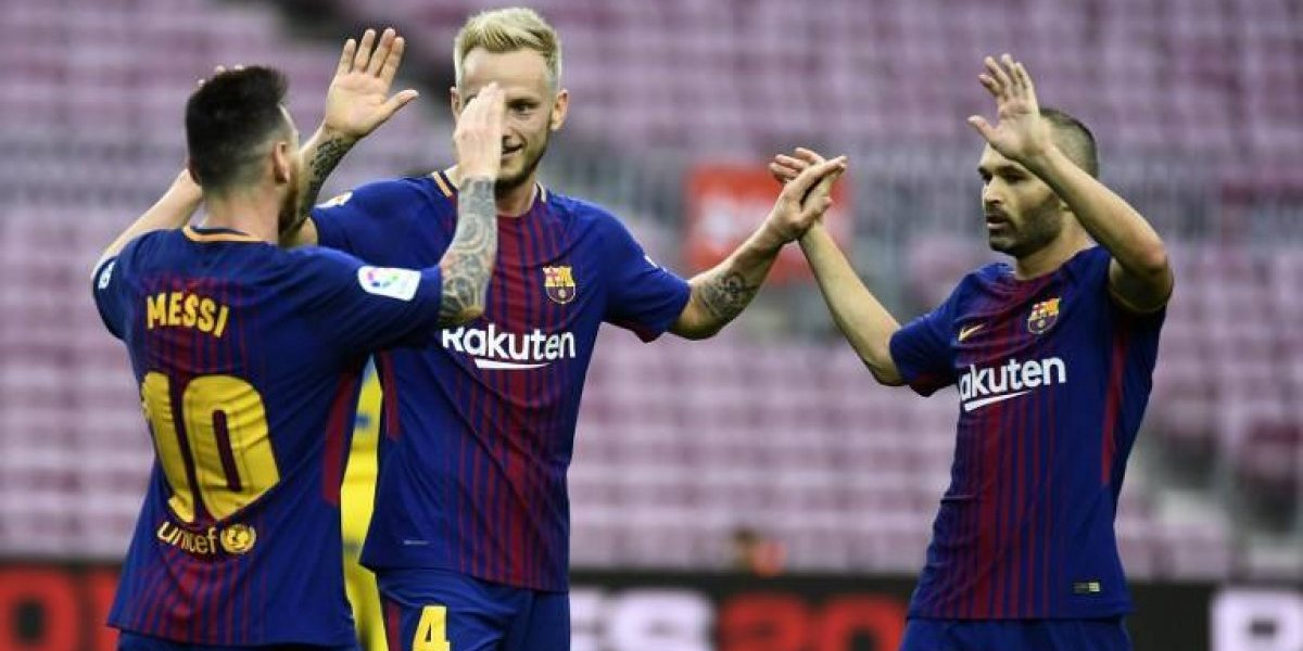 VIDEO. Barcelona derrota a Las Palmas con doblete de Messi