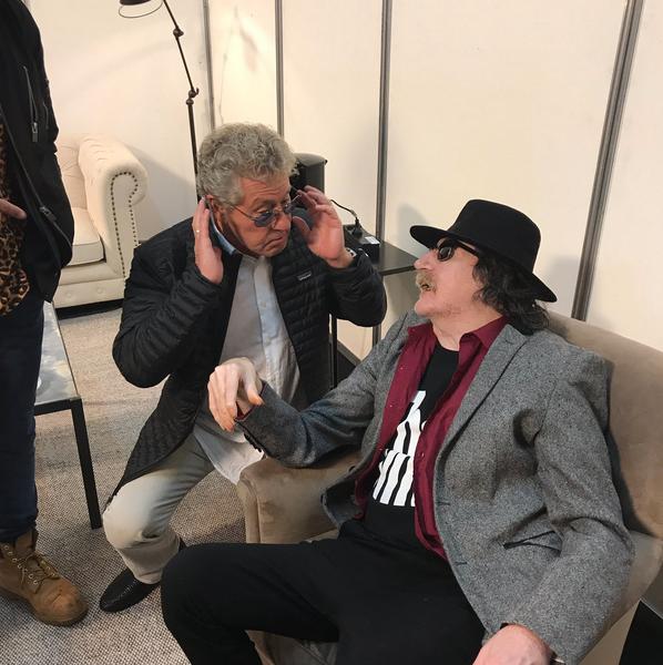 Charly García y The Who comparten experiencias