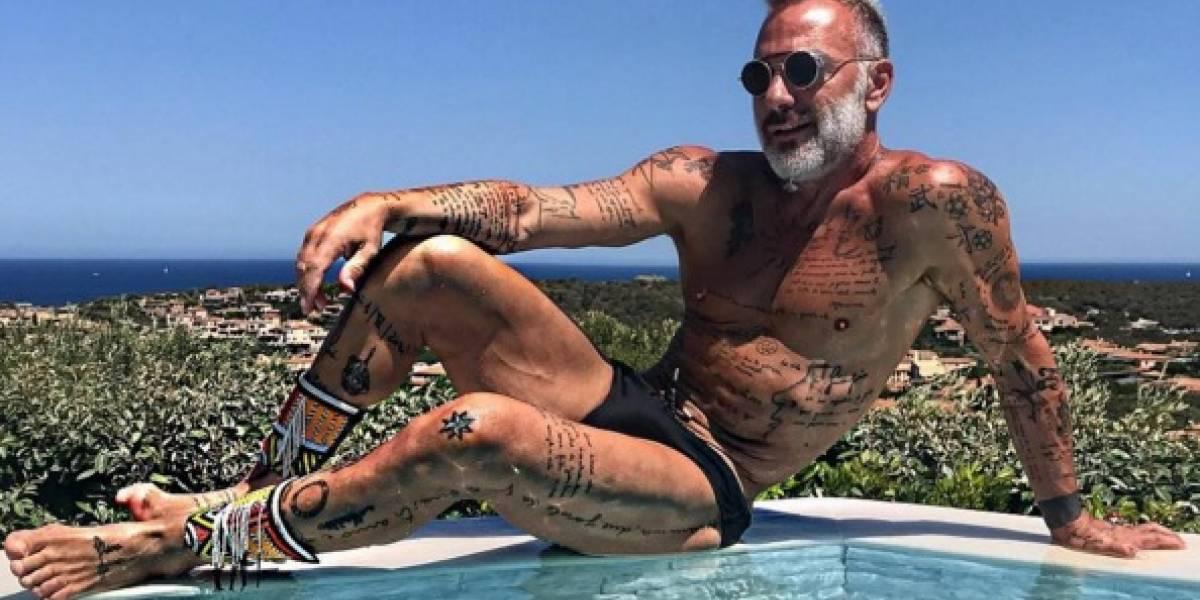El cambio de look de Gianluca Vacchi que lo hace ver más joven