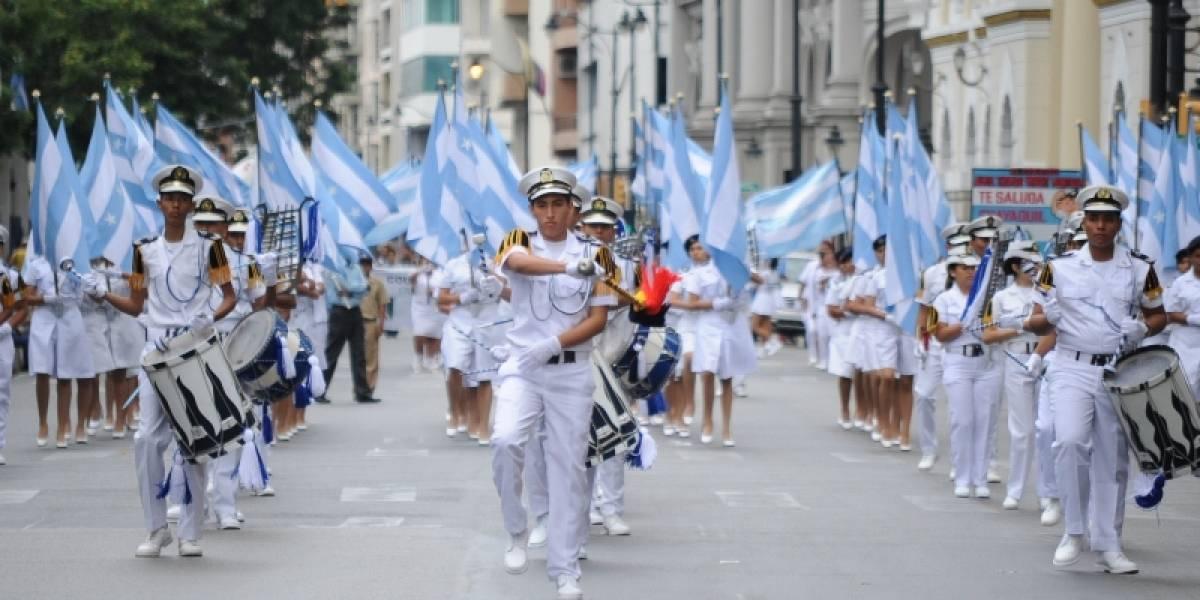 Pregón abrió las 'fiestas octubrinas' en Guayaquil