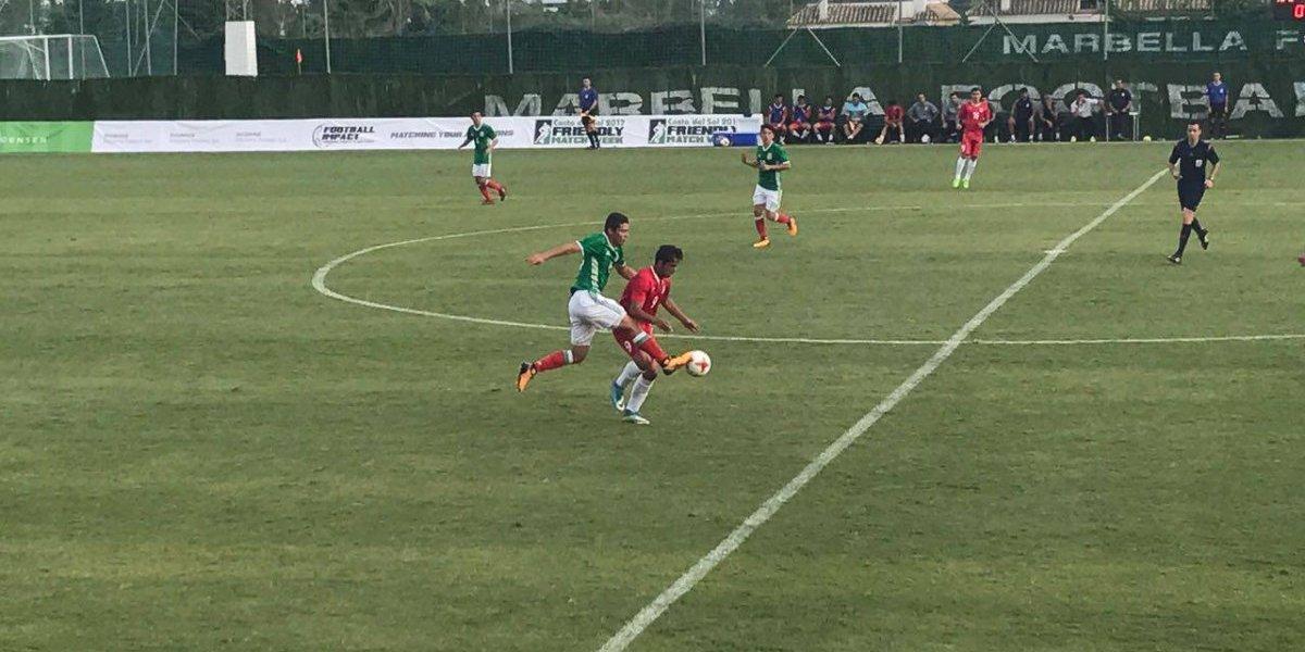Tri Sub 17 pierde ante Irán en último duelo de preparación para Mundial