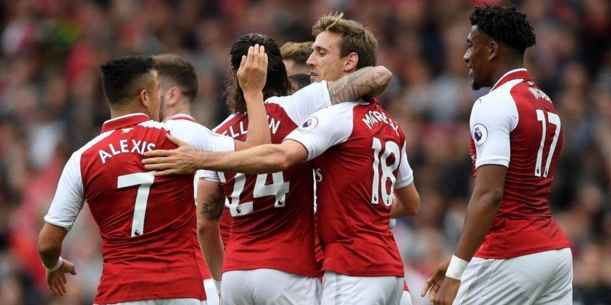 Alexis Sánchez volvió a ser la figura en nuevo triunfo del Arsenal en la Premier