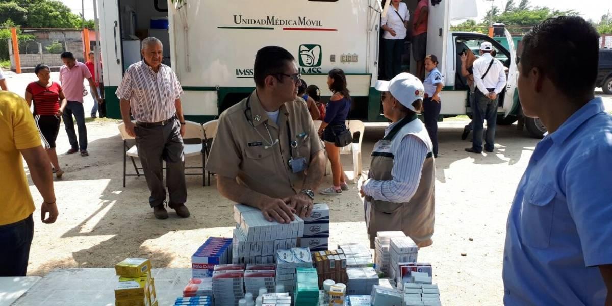 IMSS entrega más de 48 mil medicamentos a población del Istmo de Tehuantepec
