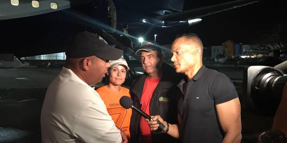Lin-Manuel Miranda entrega alimentos y agua a Vega Alta