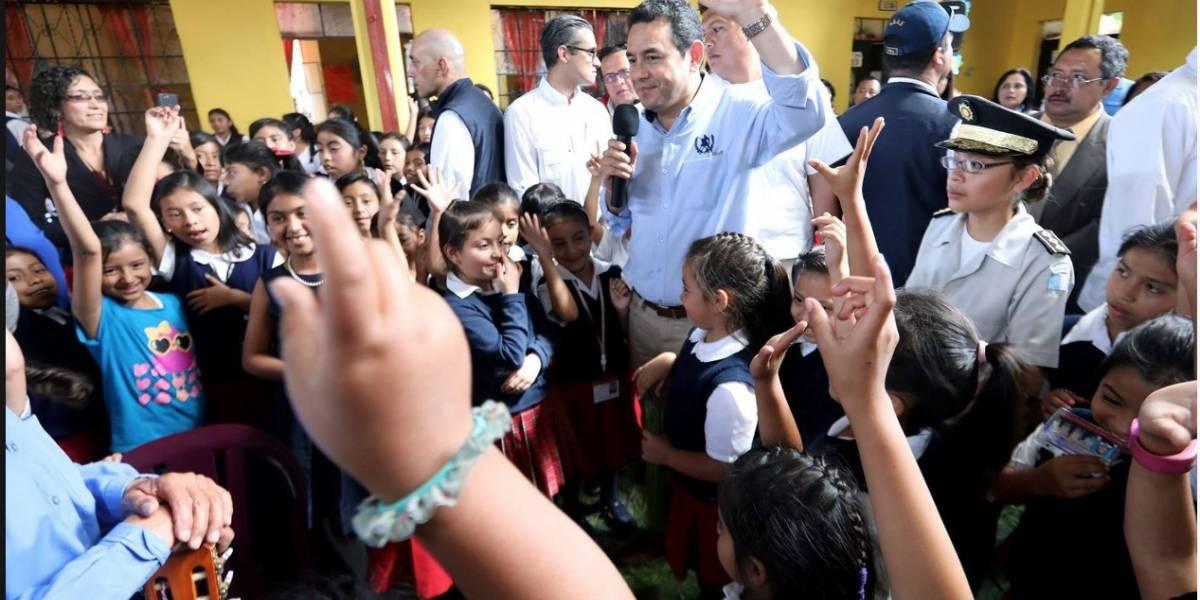 En su mensaje por el Día del niño, Morales cita a expresidente de EE. UU.