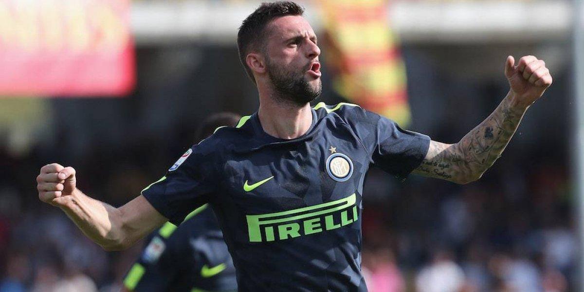 Marcelo Brozovic da triunfo al Inter sobre Benevento