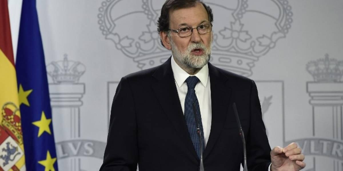 """VIDEO. Mariano Rajoy: """"las fuerzas de seguridad 'han cumplido con su obligación' en Cataluña"""""""