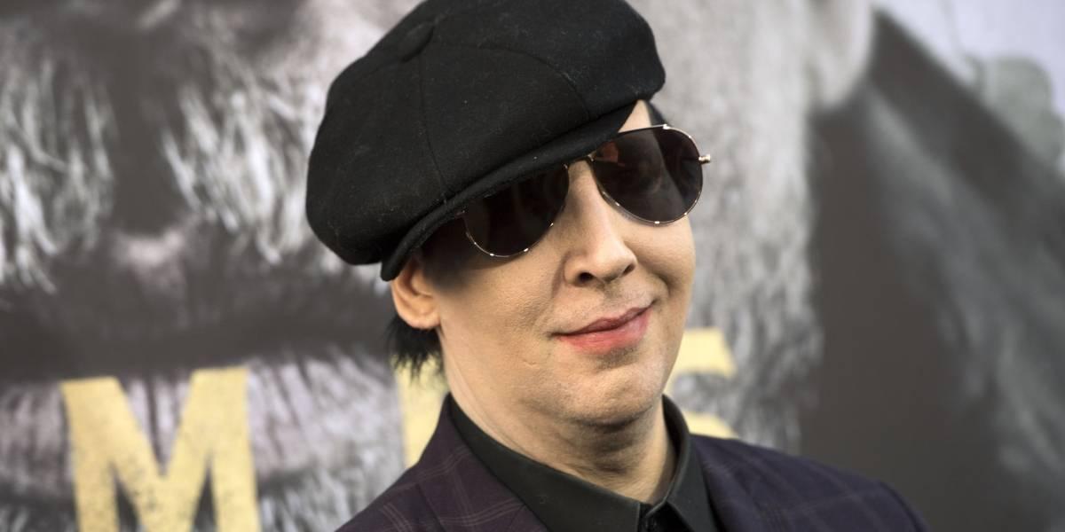 VIDEO. Marilyn Manson resulta herido al caerle encima parte de la escenografía en concierto en vivo