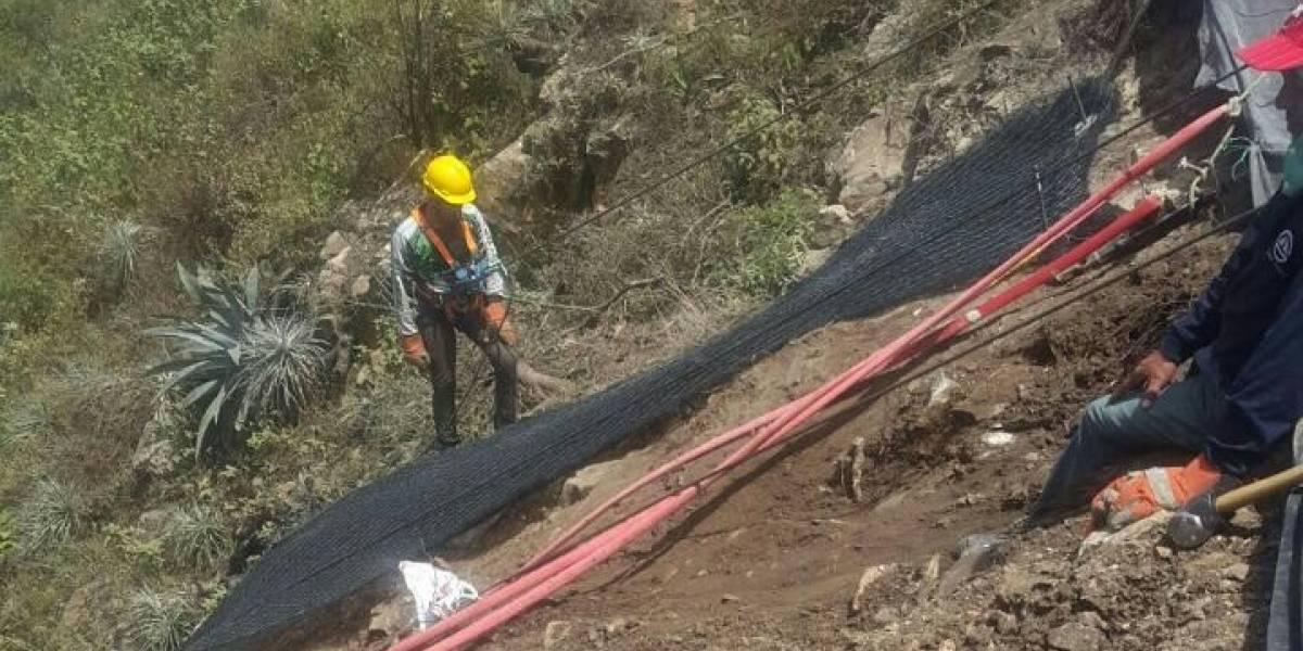 Mañana inician las perforaciones para colocar barrera dinámica en El Tahual