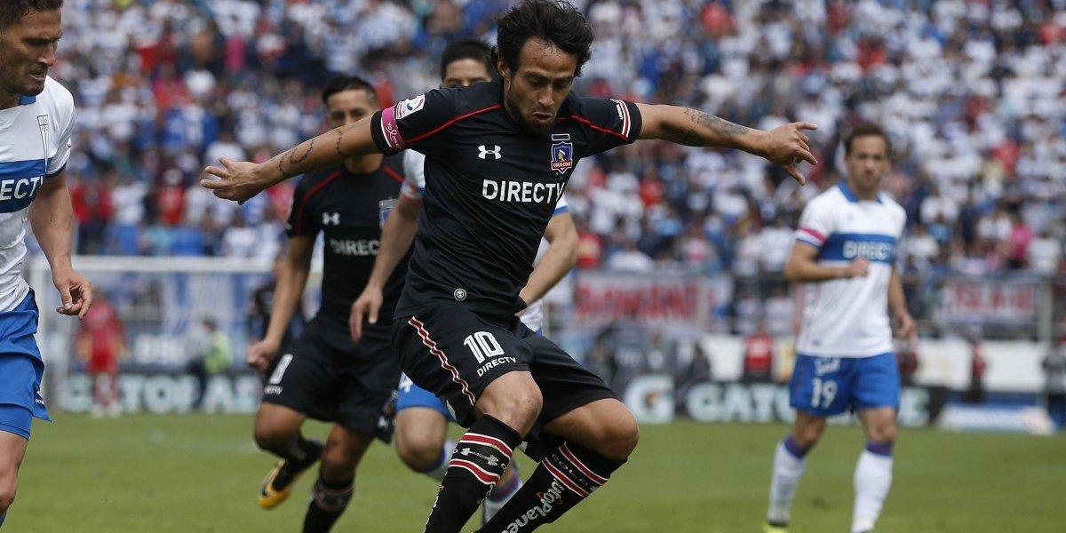 """Valdivia espanta los fantasmas y renace de la mano de Colo Colo : """"Me siento mejor que nunca"""""""