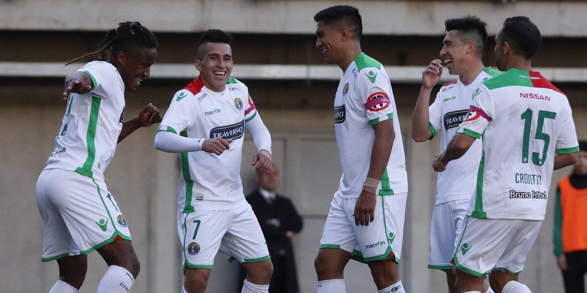 Audax Italiano goleó a Everton en una noche que Eduardo Lobos querrá olvidar para siempre