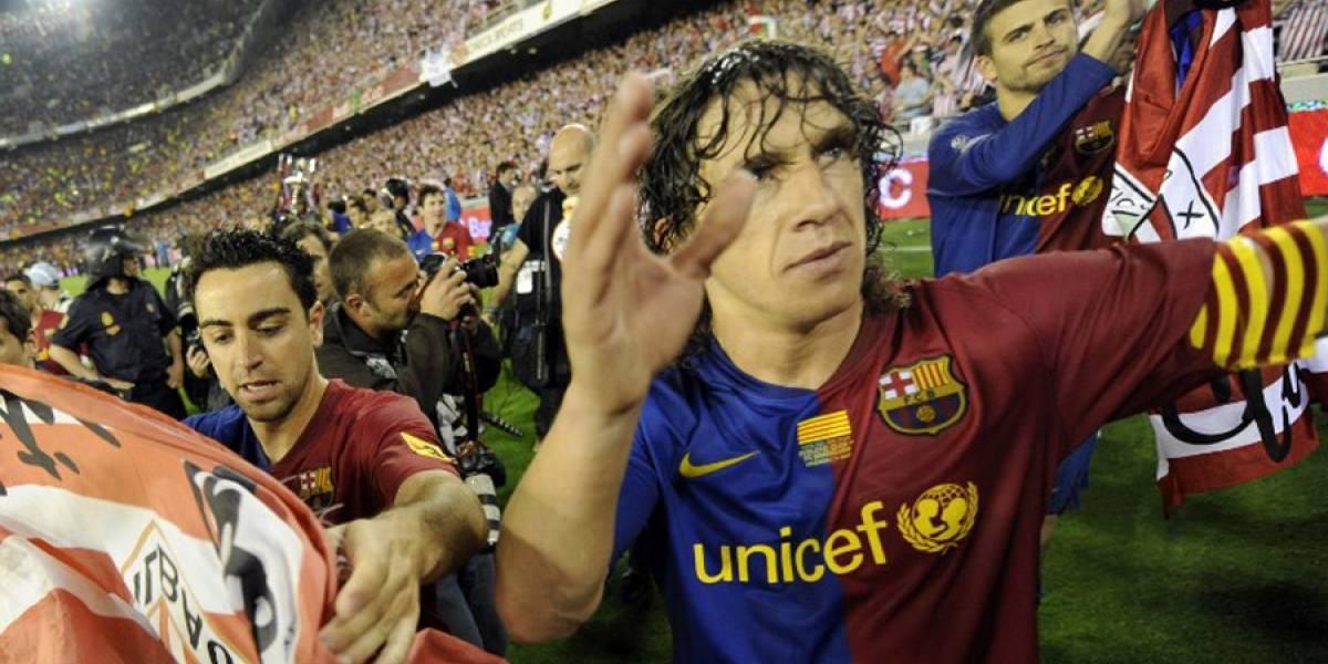Piqué, Xavi y Puyol expresan su apoyo al referéndum