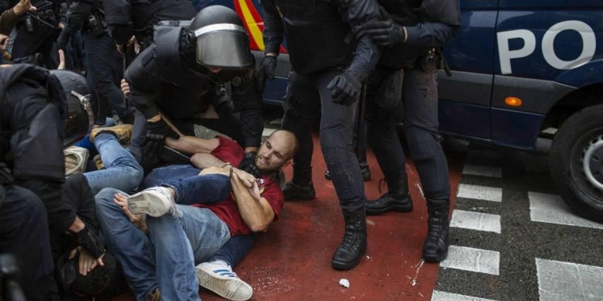 Referéndum independentista: aumentan a más de 700 los heridos tras enfrentamientos con la policía según el gobierno catalán