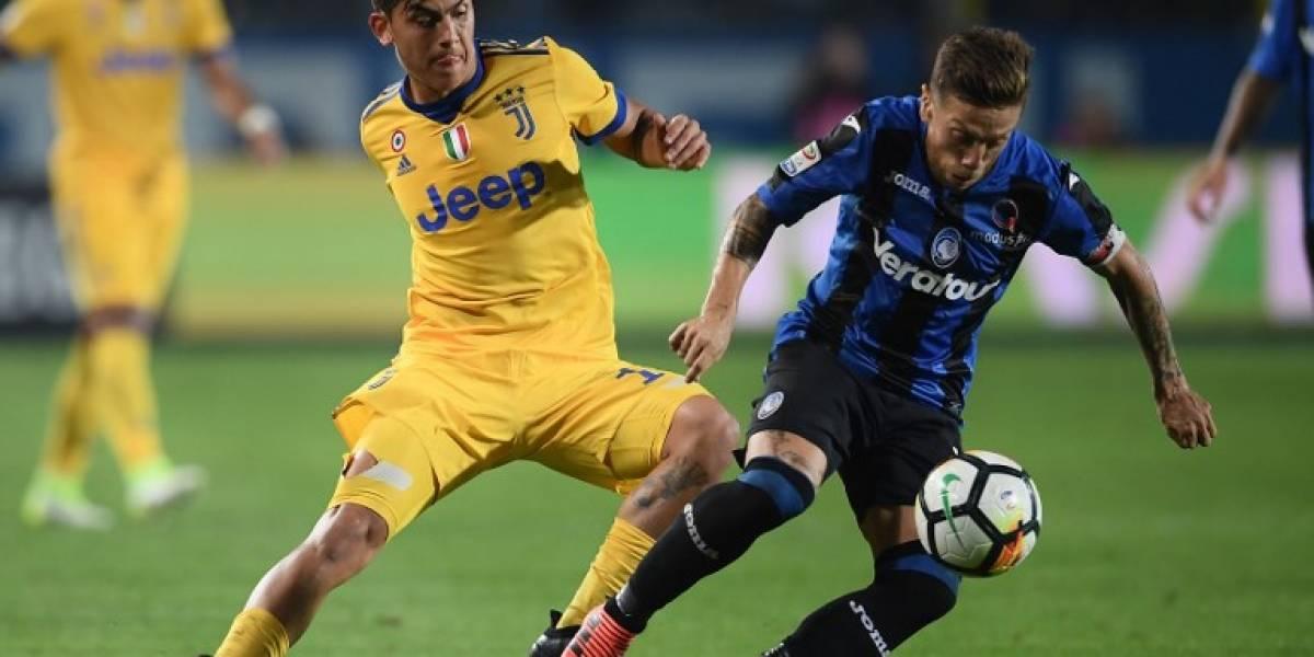 La Juventus tropieza contra el Atalanta y pierde el liderato de la Serie A