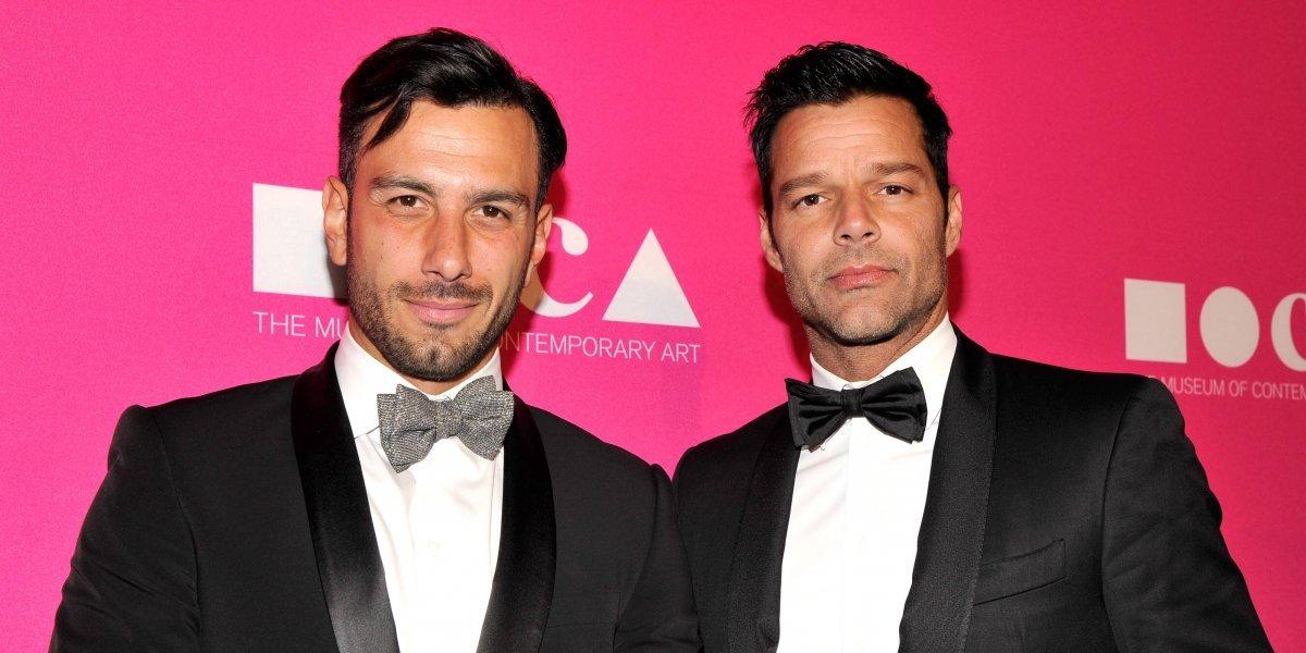 Ricky Martin cambia sus planes de boda con Jwan Yosef a causa de Trump